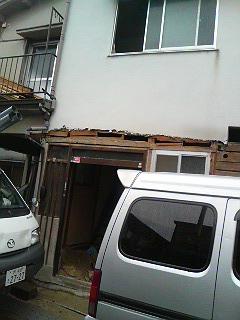 逆瀬川解体2010.02.15-1