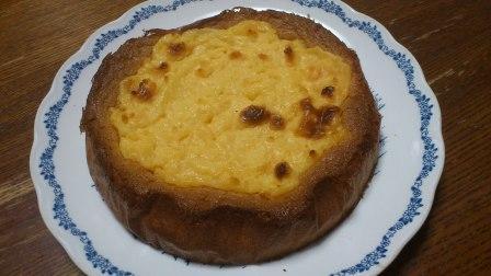 焼きカスタードケーキ