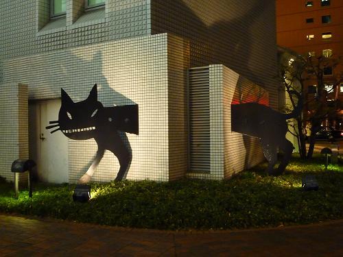 梅田2の黒猫