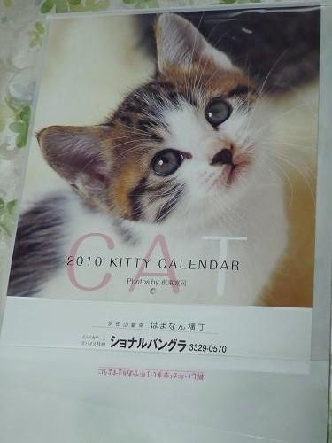 ショナルカレンダー猫