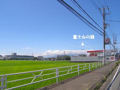 どんどん富士山に向かって走るのだ!