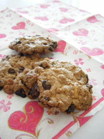ざくざくチョコチップクッキー