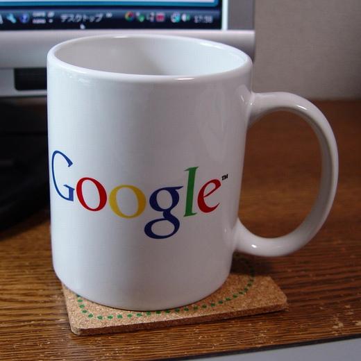 Googleマグカップ