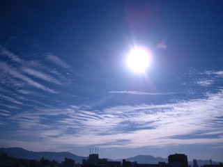 20100127_青空と雲1