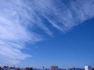 20100127_青空と雲2