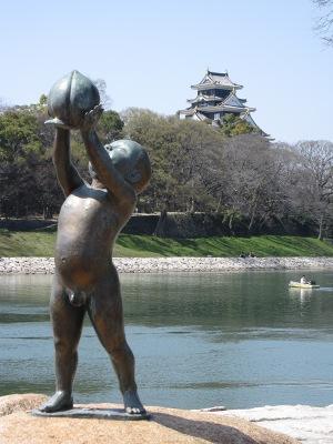 20100404_岡山城&ももくん2