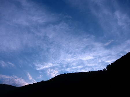 20100809_山奥の夕空