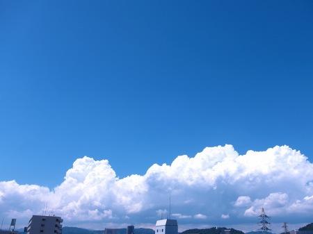 20100817_青空と入道雲1