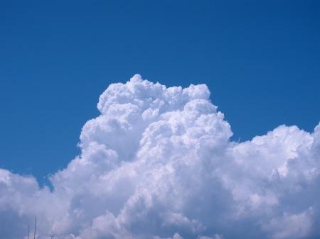 20100817_青空と入道雲2