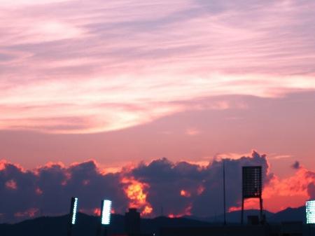 20100817_燃える夕空1