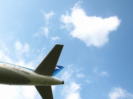 20100801_飛行機の下1