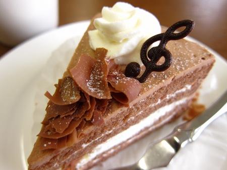 20100912_モーツアルトのチョコケーキ