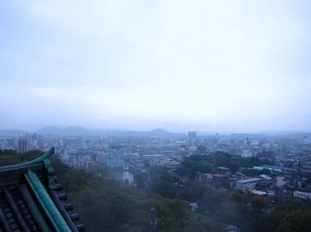 20101003_和歌山城からの景色