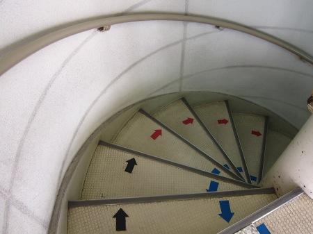 20101005_展望塔螺旋階段
