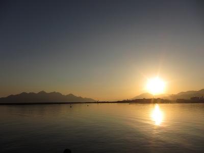 20101205_夕空と海