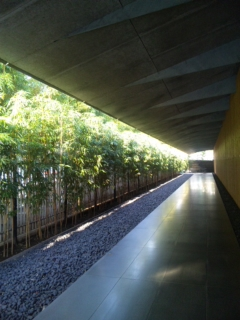 根津美術館の小路