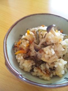 塩昆布の炊き込みご飯