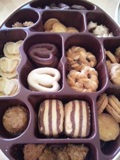 頂き物のクッキー