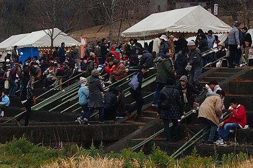 260112 緑川湖どんど祭り5