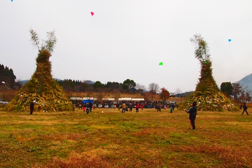 260112 緑川湖どんど祭り6
