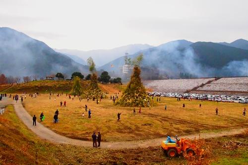 260112 緑川湖どんど祭り9
