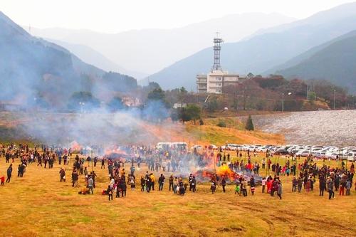260112 緑川湖どんど祭り37