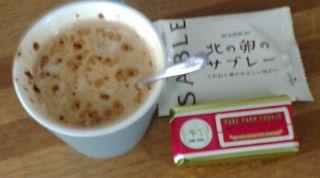 バターサンド コーヒー