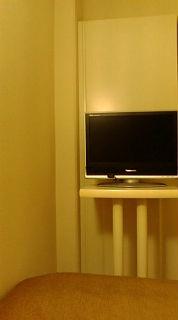 ホテルのTV