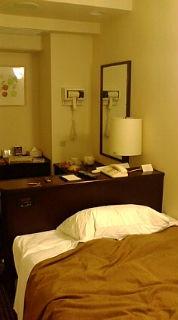 ホテルのベット