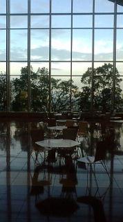 空港のとある風景