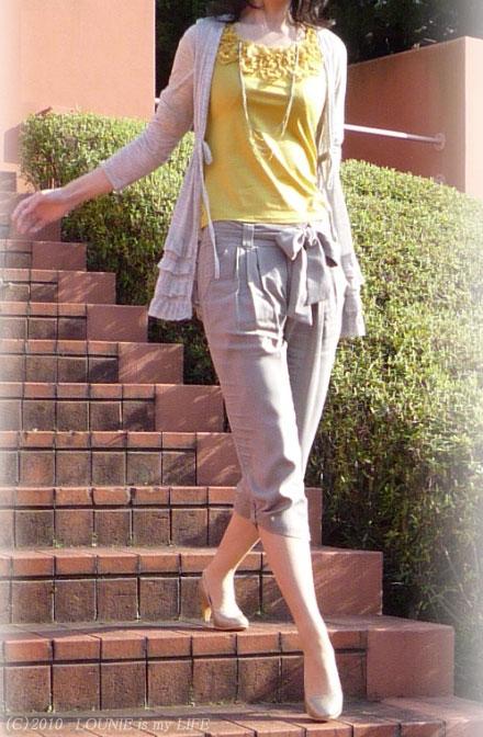 LOUNIE(ルーニィ)通販:Stola.(ストラ)2010春物★暖かくなってきたので、先日、買いためていた春物たちをデビュー(笑)させました!♪★春物への切替第一日目は、全身Stola.(ストラ)でした☆^^☆
