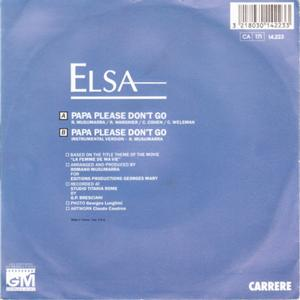 Elsa - Papa Please Don't Go 2