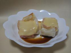 ベーコンチーズ焼餅