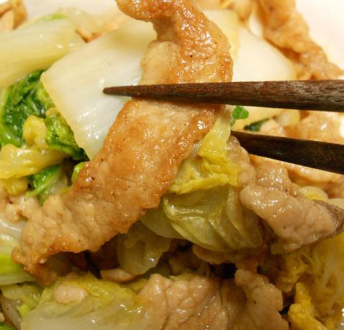 芳宝軒の肉野菜炒め13