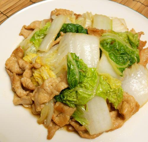 芳宝軒の肉野菜炒め12