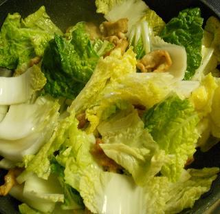 芳宝軒の肉野菜炒め10