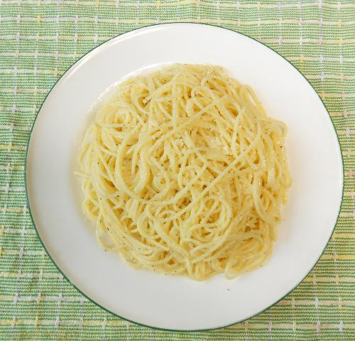 バターとチーズのスパゲティ&小次郎流オリーブスパゲティ11