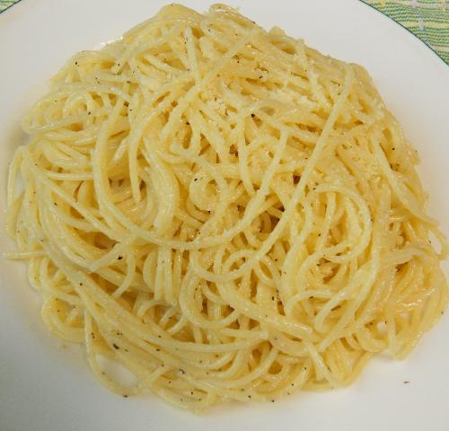 バターとチーズのスパゲティ&小次郎流オリーブスパゲティ13