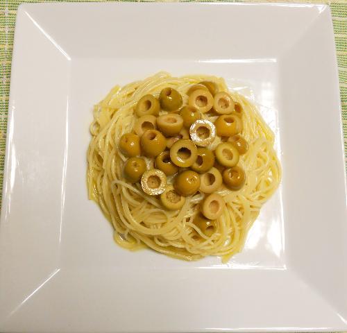 バターとチーズのスパゲティ&小次郎流オリーブスパゲティ12