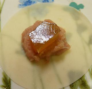 マグロとブリのコラーゲン入り餃子12