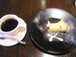 デザートのタルトフロマージュ