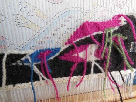 フレミッシュ織り講座 課題2-2