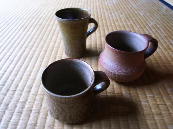 山村富貴子さんのマグカップ