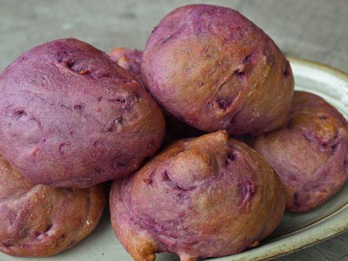 1紫芋のスコーン