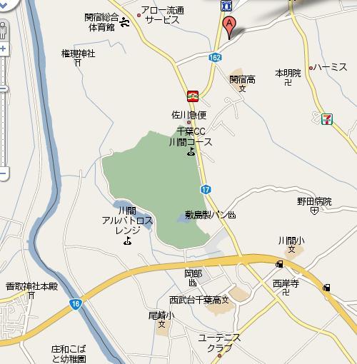 地図野田市