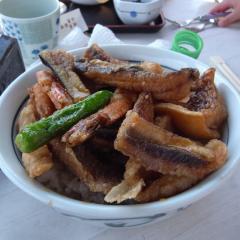 根魚唐揚げ丼