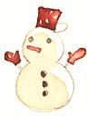 雪だるま(ポカポカ)