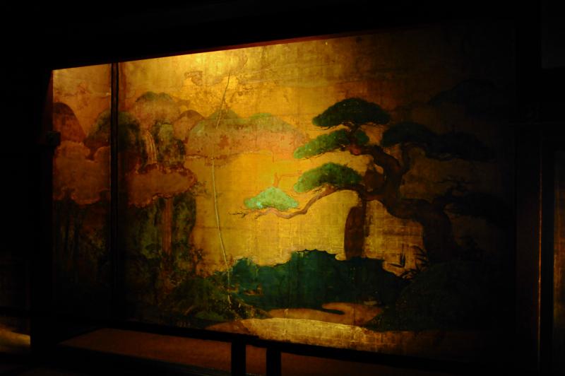 青蓮院門跡 壁絵