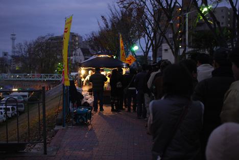 20091206京橋朝市行列