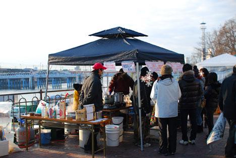 20091229京橋朝市風景